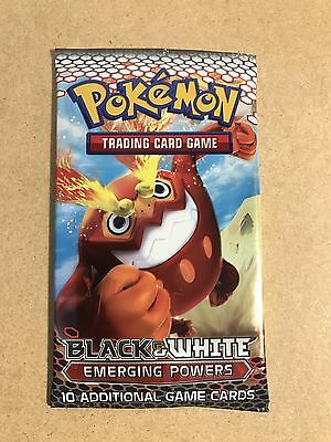 Pokemon Sealed Booster Pack Black & White Emerging Powers Brand New Sealed 2011