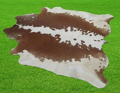 """New Cowhide Rugs Area Cow Skin Leather 15.97 sq.feet (50""""x46"""") Cow hide MB-1183"""