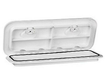 "20""x18"" WHITE  MARINE DECK HATCH HATCH & LID ACCESS HATCH BOAT DECK HATCH"