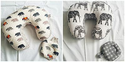 Love2Sleep BABY FEEDING/ NURSING PILLOW FOR SUPPORT WITH FREE HEAD PILLOW