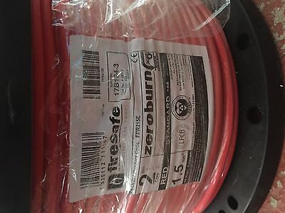 Firesafe FP200 1.5mm 2 core & earth 100m Brand New