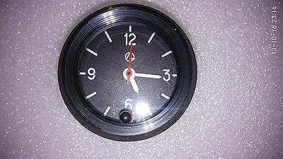 LUCH Quartz car clock.For car dashboard and many other projects. Color BLACK NEW