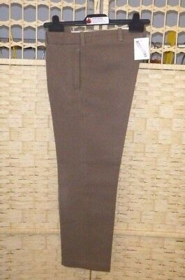 "VINTAGE BOYS TROUSERS cavalry twill GURTEX woollen cloth trousers 26"" waist"