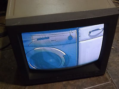 """14"""" Inch S video / PAL Colour CRT Monitor CMA1480S 110 TO 240 V"""