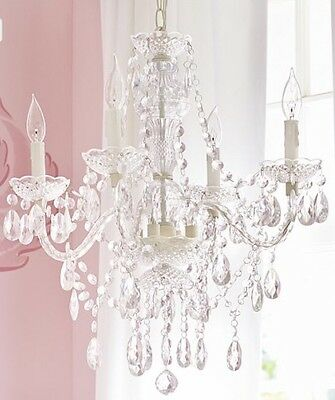 NEW Pottery Barn Kids Bella Chandelier Hardwire