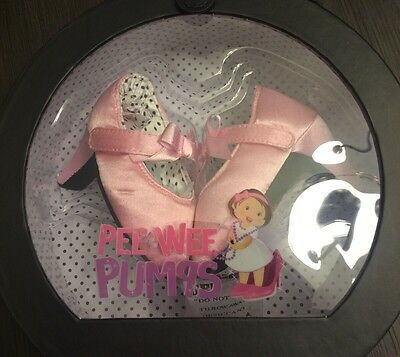 BRAND NEW IN BOX PEE WEE PUMPS BABY HIGH HEEL PUMPS Pink 0-6 MONTHS