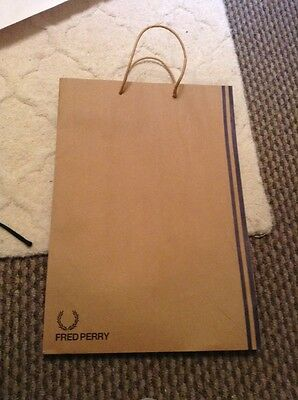 Fred Perry paper gift bag