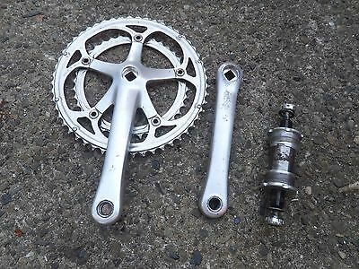 Campagnolo Double Road Bike Crank Chainset With Square Bottom Bracket