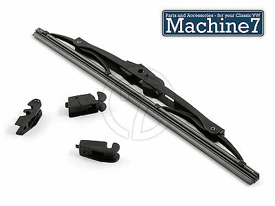 VW T1 Beetle Wiper Blade Set W//Arm Silver Classic Aircooled Early 1954-57 Oval