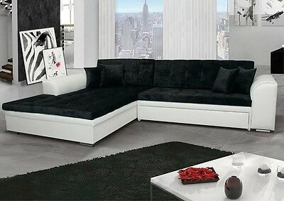 ecksofa sorrento couch mit schlaffunktion schlafbett. Black Bedroom Furniture Sets. Home Design Ideas