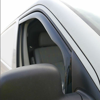 Volkswagen Transporter T5 Door Window Wind Deflectors, Smoked 2003 - 2015