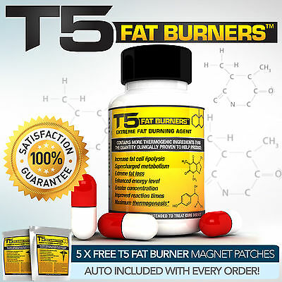 T5 Fat Burners : Scientifically Proven  Slimming / Diet & Weight Loss Pills