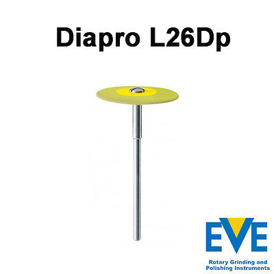 Dental Lab Diamond Polishing Tools EVE Diapro emax silicate ceramics bur L26Dp