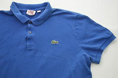 Mens Vintage Retro Devanlay Lacoste Live Polo Shirt Sz Medium #TS20062151