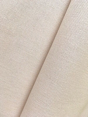 Ivory /Cream 27 count Linda  evenweave Zweigart cross stitch fabric 100 x 70 cm