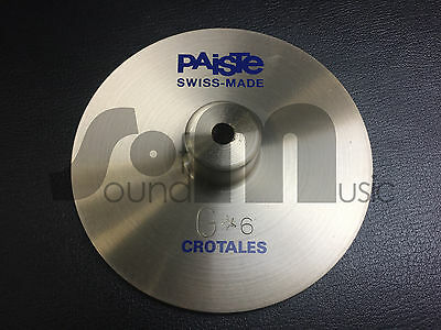 Paiste Crotale G*6 | NOS | New Old Stock | Vintage | Neu