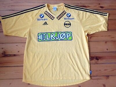 Adidas FC Lillestrøm Lillestrom 2002-03 Home Norway Jersey #16 Player Issue -XL