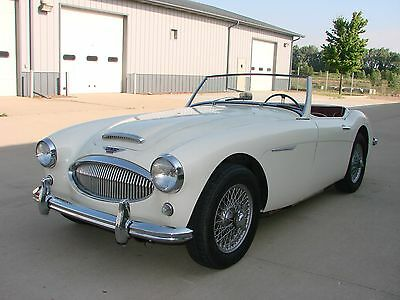1962 Austin Healey 3000 BT7 Tri-carb 1962 Austin Healey 3000 MkII BT7 Tri-Carb - Solid - Great Driver
