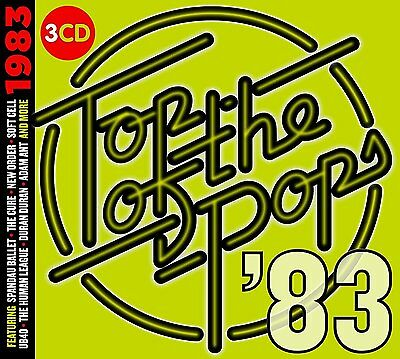 Top Of The Pops 1983 3 Cd Set