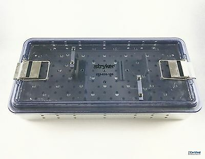 Stryker Arthroscope & Camera Sterilization Tray 233-032-105