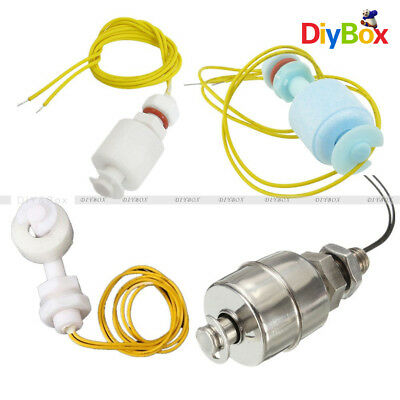 Stainless Steel 45mm/ PP 52mm/ Right Angle Water Level Sensor Ball Float Switch