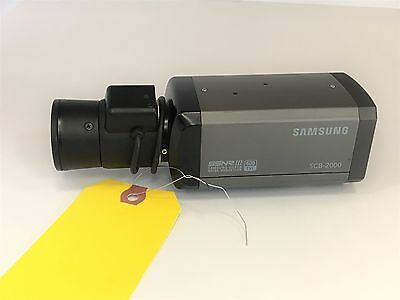 Samsung Techwin SCB-2000N 600 TVL Day/Night Analog Security Camera