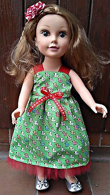 """18"""" doll clothes,dress, REVERSIBLE design a friend,Our generation, Journey Girl"""