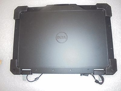 GENUINE Dell Latitude 14 Rugged Extreme LCD Top Cover W/Hinges -NIJ10- XGCYY