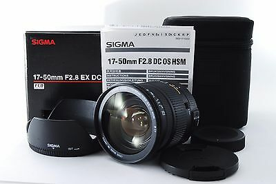 SIGMA 17-50mm F2.8 EX DC HSM sony [Excellent+++] From Japan
