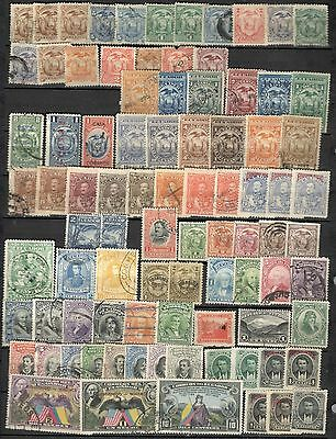 Ecuador 2  pages  classic lot collection