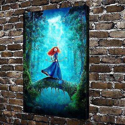Disney Brave Paintings HD Print on Canvas Home Decor Wall Art Pictures Poster