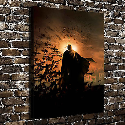 DC Batman Posters HD Print on Canvas Home Decor Paintings Wall Art Pictures