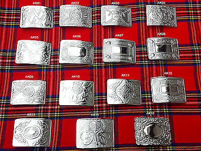 Scottish Kilt Belt Buckle In 15 Designs - Kilts Belts Buckle