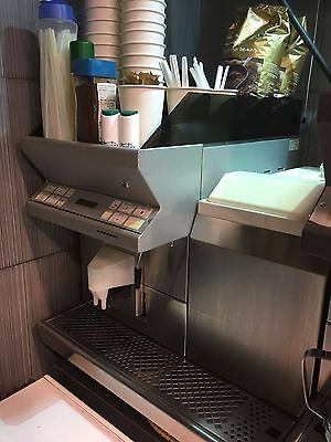 Thermoplan Black And White  Ctm Automatic Bean To Cup Coffee Machine