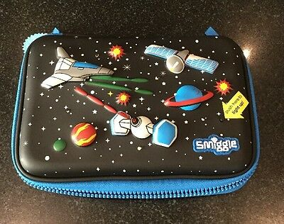 Smiggle / Space Theme Pencil / Pen Organiser / Lights Up New With Tags