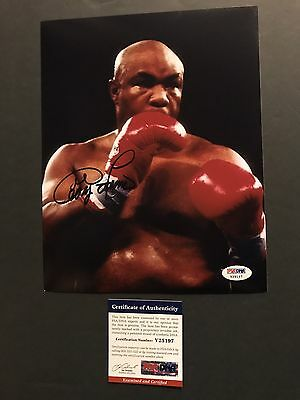 George Foreman Rare! signed autographed Boxing 8x10 Photo PSA/DNA Cert
