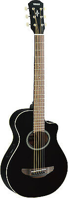 Yamaha APX T2 3/4 Electro Acoustic Guitar - Gloss Black