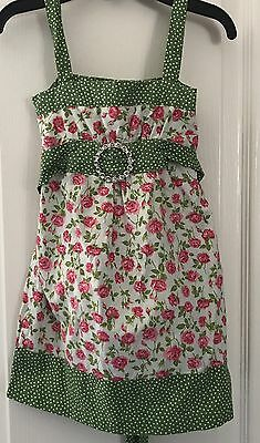 Sweet Girls Boutique MY VINTAGE BABY Floral Long Top/ Dress Sz 3T