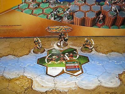 More used card Aubrien Archers Wave 4 Zanafor's Discovery Heroscape minis