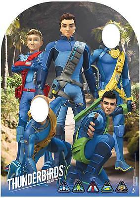 Thunderbirds Are Go Child Size Stand-in Lifesize Cardboard Cutout  *Damaged*