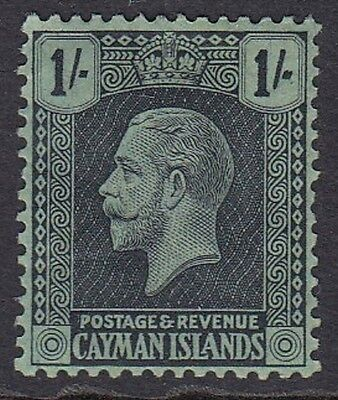KGV Cayman Islands Shilling MH - Lovely Stamp