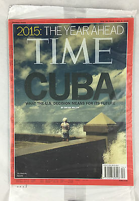 Time Magazine Double Issue Dec. 29 / Jan. 5, 2015 - 2015 The Year Ahead Cuba