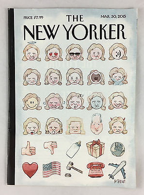 The New Yorker Magazine March 30, 2015