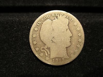 Ag-Good 1913 S Barber Half Dollar