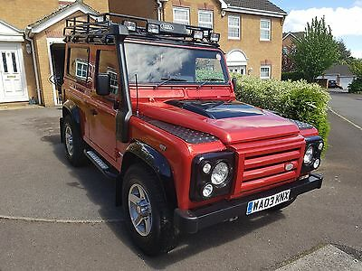 Land Rover Defender 90 TD5, Galvanised Chassis