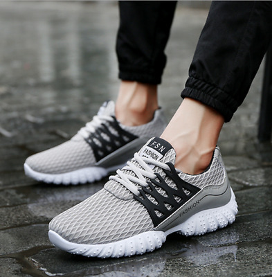 Men's Fashion Sneakers Sport Breathable Sports Athletic Running Shoes