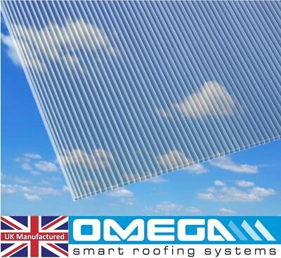4mm Polycarbonate Sheet, 5 of 2ft x 4ft, 610mm x 1220mm | Greenhouse Replacement