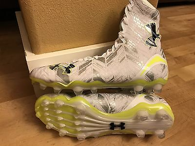 *new* $150 Under Armour Highlight Mc Football Lacrosse Cleats 1264188-102 Sz 8.5