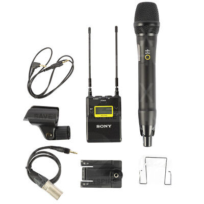 Sony UWP-D12 Integrated Digital Wireless Handheld Microphone ENG System!! NEW!!