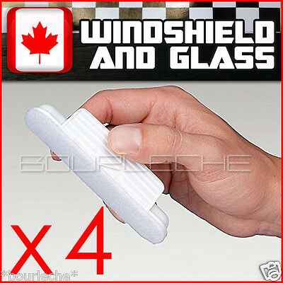 4PACK HYDROPEL WINDOW WINDSHIELD TREATMENT RAIN - same aquapel applicator size
